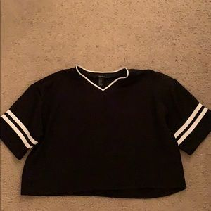 Forever 21  short sleeve jersey; size : small